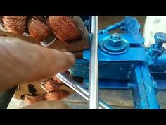 Home Made Celling Fan Rewinding Machine Demo