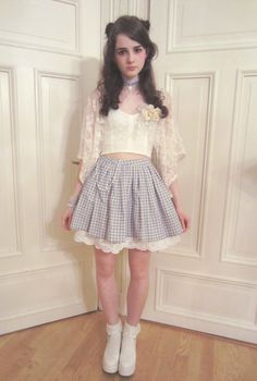 Kawaii hair and skirt, well, kawaii everything!