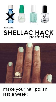 DIY shellac hack - m