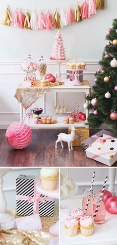 Christmas: Girly, pastel and pink /karen cox Holiday Decor: What's Your Style Pt. 2