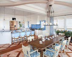 Beach theme dining room