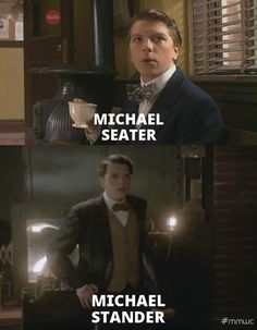 FYI: Michael Seater portrayed James Gillies in Murdoch Mysteries. Life With Derek, Murdock Mysteries, Funniest Quotes, Cant Help Falling In Love, Guy Names, Best Actor, Cops, Good Movies, Movies And Tv Shows