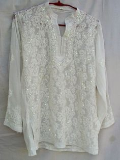 f5a506e223b 8 Best White Embroidert Tunic images | Online shopping stores, Tunic ...