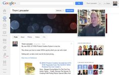 Thom Lancaster on Google+