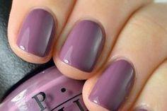 Purple OPI nail polish color