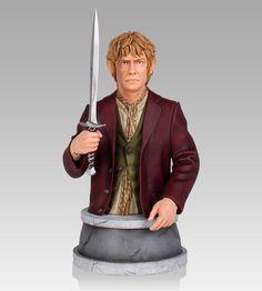 Busto El Hobbit: Un Viaje inesperado. Bilbo Bolsón 14 cm. Escala 1/6. Gentle Giant
