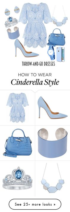 """""""cool !"""" by shareence on Polyvore featuring Alice McCall, Gianvito Rossi, Longchamp, Maison Margiela, Melissa Joy Manning, Disney, Michael Kors and Torras"""