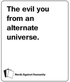 Nerds Against Humanity