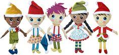 The Secret Service Elf Dolls