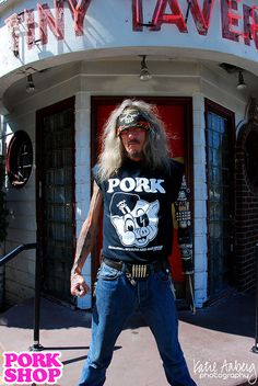 New PORK t-shirt! Available NOW in the PORK SHOP!