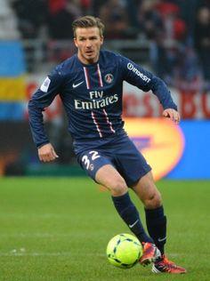 david beckham   David Beckham au PSG