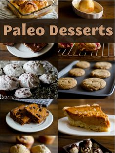 It's said that this is the best Paleo Desserts Cookbook! Paleo Dessert, Paleo Sweets, Dessert Recipes, Healthy Treats, Healthy Desserts, Healthy Eating, Clean Eating, Healthy Food, Diet Desserts