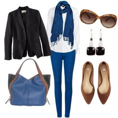 Ideas for blue skinny jeans