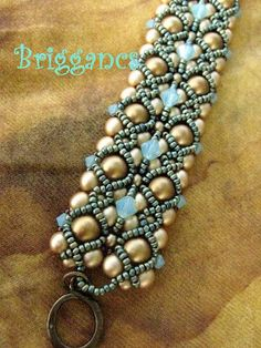 Briggancs. I would like the bracelet more if it didn't have the crystals.