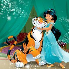 Disney Princess Jasmine, Disney Princess Pictures, Aladdin And Jasmine, Disney Pictures, Disney Nerd, Arte Disney, Disney Love, Disney Frozen, Aladdin Tattoo