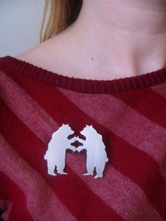 Grizzly Bear High Five Brooch
