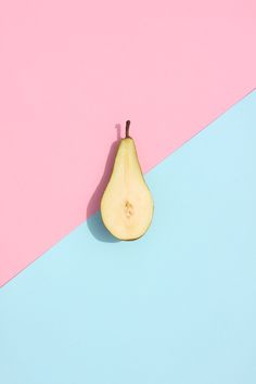 'Pear and card' Adam Grüning, 2013 Playing with two tones