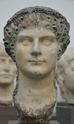 Agrippina the Younger, AD 41-54, from the time of the Emperor Claudius, Ny Carlsberg Glyptotek, Copenhagen