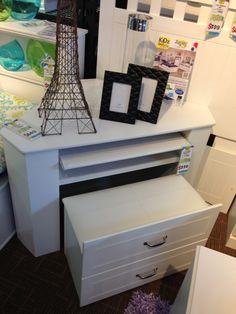 Corner hidden desk with chair LuLu corner desk