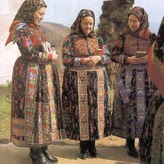 Hungarian traditional costumes