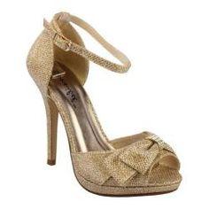 Women's Da Viccino Tiara-3 Gold Heels - Overstock™ Shopping - Great Deals on Da Viccino Heels