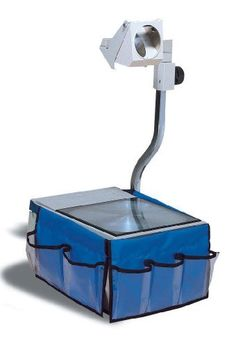 Creative Learner Overhead Projector Caddy, 12 X 7.5 Inches, Blue, 6 Pockets (0020700) by Creative Learner. $9.53. Convenient way to store pens, tranparencies and othe items used with a overhead projector. 6 clear pockets in 3 different sizes, caddy is made of nylon
