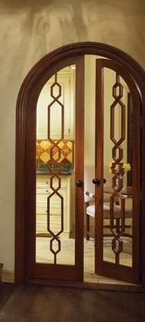 Arched doors...fabricated for front doors?