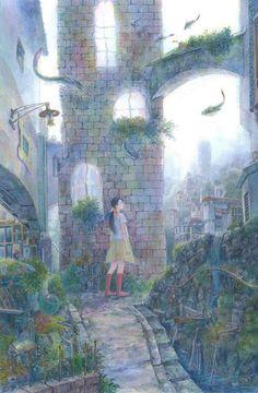 """待井健一 (Kenichi Machii), """"やわらかな朝"""" (""""Gentle Morning"""")"""