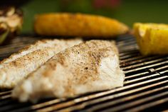 Summer is my favorite season because of the warm weather and sunshine and easy, laid-back way it makes me feel. Cooking in the summer at my house is almost exclusively limited to grill preparations. Haddock Recipes, Fish Tacos, Seafood Recipes, Food To Make, Steak, Grilling, Dining, Cooking
