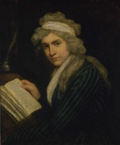 Mary Wollstonecraft (Mrs William Godwin),c.1790-1.John Opie (English, 1761‑1807).Oil paint on canvas.Tate Gallery.