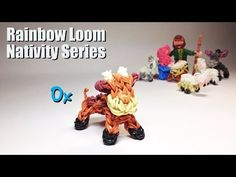PG Loomacy. Rainbow Loom Nativity Series: OX - YouTube