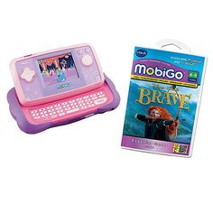 VTECH MobiGo 1 Disney Princess Value Pack with 2 WEB ONLY deal - but choose Click and Collect at the checkout to pick it up from your local store in 2 to 4 working days. Learn and play on the move with the VTech MobiGo 1 Disney Princess Value Pack T http://www.comparestoreprices.co.uk/educational-toys/vtech-mobigo-1-disney-princess-value-pack-with-2.asp