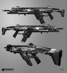ArtStation - Titanfall 2 R201-SOAR (Special Operations Assault Rifle), Ryan Lastimosa