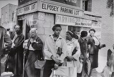 Dan Weiner. Bus Boycott, Mongomery, Alabama. 1956