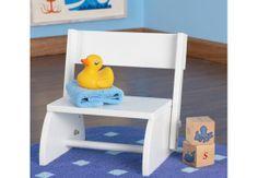 Flip Stool - White|Fab Style Kids Rooms http://fabstylekidsrooms.com/Bathrooms/Step-Stools/Flip-Stool-White #stepstool