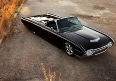 Ford Thunderbird Classic car ford thunderbird roadster tuning lowriders lowrider wallpaper