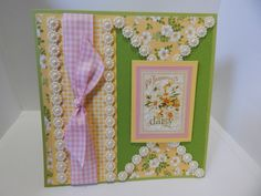 Card that I made for Card Maker Magazine Color Challenge