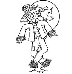 20 Best Scarecrow Coloring Images Coloring Pages Print Coloring