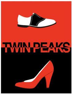 Twin Peaks.  I need me some saddle shoes.