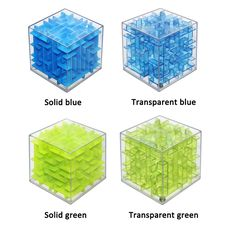 Mini Maze Magic Cube Puzzle Speed Cube Labyrinth Rolling Ball Toys Puzzle Game Cubos Magicos Learning Toys Best Gift For Kid New Online Games, Stress Cube, 3d Maze, Labyrinth Game, Cubes, Enigma, Cube Puzzle, Stress Relief Toys, Shopping