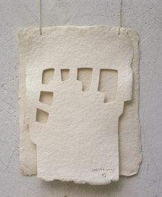Eduardo Chillida (paper, could be made in silver)
