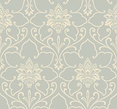 wallpaper...this would be pretty in a powder room with some white subway tiles or marble (depending on budget) and a sweet little chandelier
