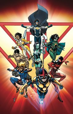 Comic News: Silver Surfer, New Warriors, Elektra, Punisher & Captain Marvel Marvel Comics Art, Marvel Dc Comics, Marvel Heroes, Captain Marvel, Superhero Characters, Comic Book Characters, Comic Books Art, Book Art, Superhero Kids