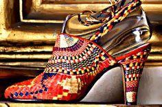 Salvatore Ferragamo woven sandal, 1938