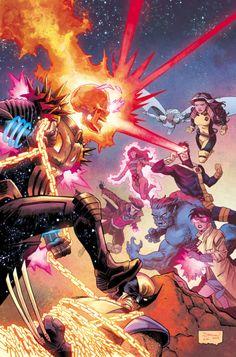 Cosmic Ghost Rider Destroys Marvel History by Declan Shalvey Marvel Dc, Marvel Comic Universe, Marvel Comics Art, Comics Universe, Marvel Heroes, Marvel Comic Character, Marvel Characters, Ghost Rider Marvel, Avengers