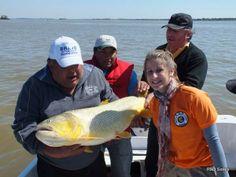Fortalecimiento del producto pesca deportiva: Importante acompañamiento del Gobierno Provincial en el Torneo Apertura del Dorado #VamosParaAdelante