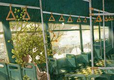 Beautiful Illustrations by Jin Xingye – Fubiz Media