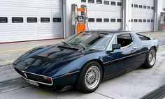 Maserati Merak. Precursor of the GranTurismo