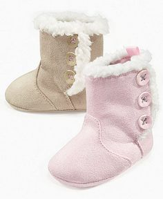 Winter is here and newborns need fashionable boots too.