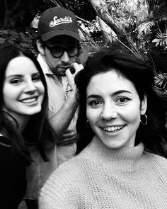 Lana Del Rey with Marina Diamandis #LDR
